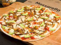 Pizza carne desmechada