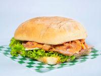 Sandwich de Pollo o Pepperoni