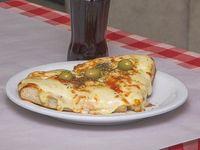 Promoción - Pizza muzzarella (2 porciones) + bebida a elección