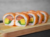 Sake green roll