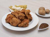 Pollo Broasted 8 Presas