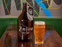 Cerveza growler vidrio 2 L