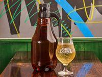 Cerveza growler plástico 2 L