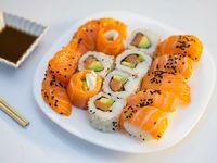 Tabla full salmón (15 piezas)