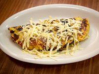 Cachapa de queso blanco llanero y mantequilla
