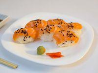 Niguiri de salmón rosado (6 unidades)