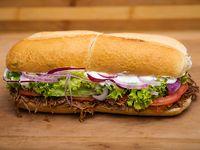 Sándwich mega criollo