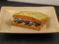 Sándwich pan de verdura relleno a elección