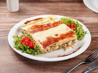 Lasagna de Pollo y Espinaca