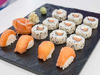 Combinado de salmón fresco (15 piezas)