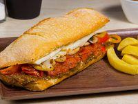 Sándwich vegetariano