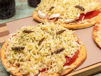 Menú 5 - 3 Pizzas individuales + 3 Bebidas 500 ml