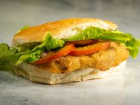Promo 5 - 3 sándwiches de milanesa completa de pollo con lechuga y tomate