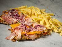 Promo D - Milanesa premium con papas fritas (comen 2)