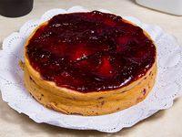Cheesecake de frambuesa