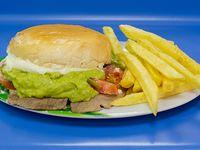 Combo - Sándwich italiano + papas fritas + bebida 350 ml