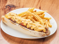 Sándwich philly cheese steak