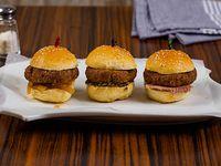 Sliders de hamburguesa (3 unidades)