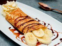 Crepe de Nutella y Banano