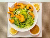 Green & shrimp salad