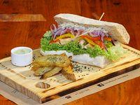 Sándwich la súper nass