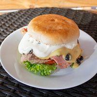 Sándwich de churrasco americano personal