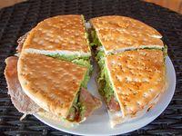 Sándwich de lomo mexicano gigante