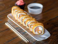Panko ebi sake roll (8 unidades)