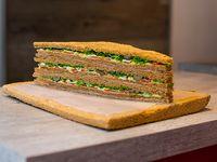 Sándwiches de ternera con tutti (12 unidades)