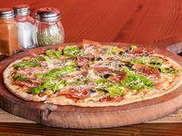Pizza rúcula serrano