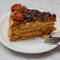 Torta hojarasca chilena