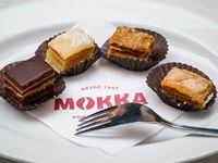 Degustación de mini tortas Mokka