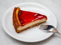 Cheesecake de frambuesa (sin azúcar)