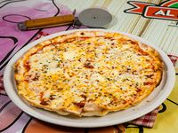 Pizza bolognesa (tamaño mediano)