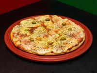 Pizza con muzarrella