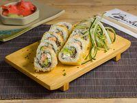 Geisha sake roll (10 piezas)