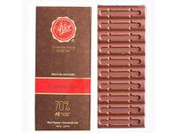 Barra de Chocolate al 70% de Cacao con Pimienta Roja