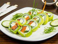 10 - Avocado sake roll (10 piezas)