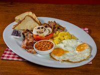 Desayuno irlándes completo