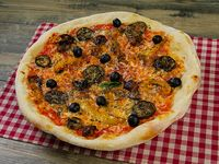 "Pizza vegetariana (14"")"