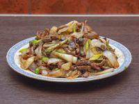 74 - Carne con champignones