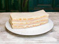 Sándwich de jamón y palmitos (3 unidades)