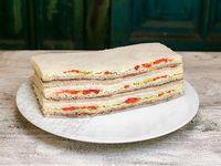 Sándwich de ternera y verduras (3 unidades)
