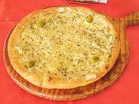 Pizza cebolla y queso
