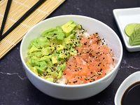 Chirashi salad salmón y palta