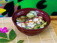 Chirashi sushi tofu
