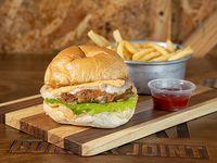 Veggie blast burger