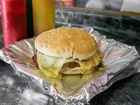 Promo - Sándwich churrasco con queso + bebida 350 ml