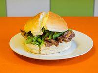 Promo 11 - 2 sándwiches barros luco + papas fritas medianas para 2 personas + bebida 1.5 L