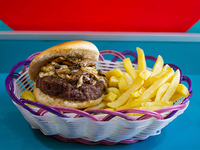 Promo para 1 - Sándwich de hamburguesa